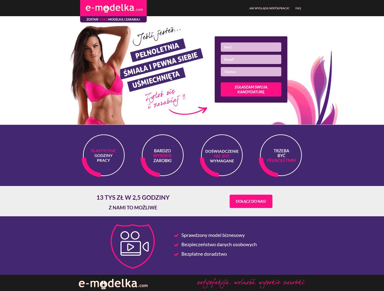 Portfolio e-modelka.com